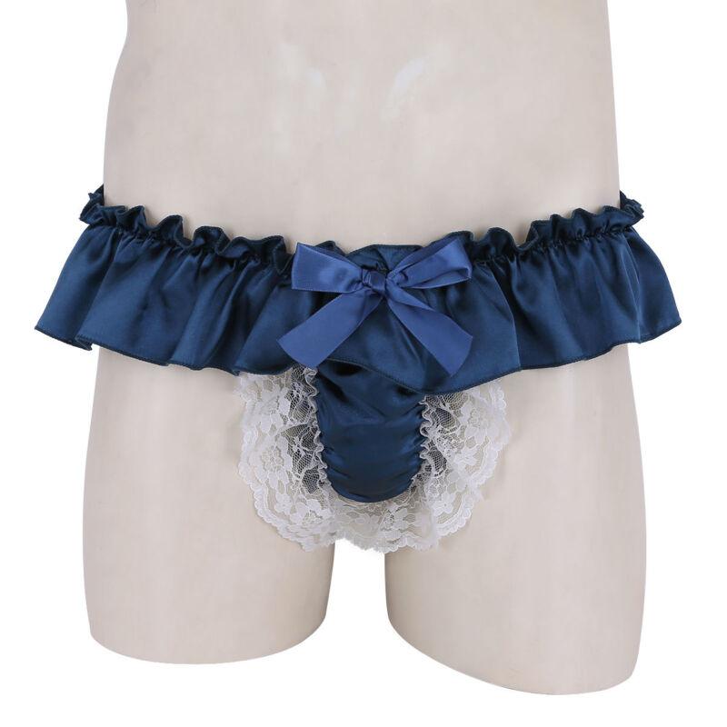 e72d6ad1afa96 Men Sissy Boxer Briefs Bikini Underwear Crossdress Jockstraps Shorts Panties