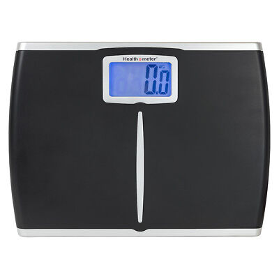 "Health-O-Meter Extra-Wide DIgital  Weight Tracking Scale w/4"" LCD, Refurbished"