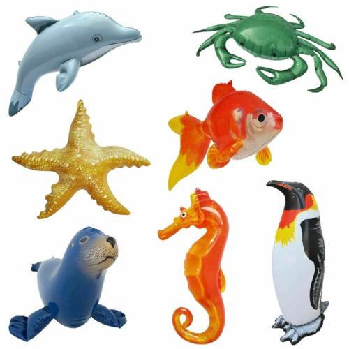 Inflatable Goldfish Ocean Life Sea Aquatic Underwater Assorted Bathtub Toys