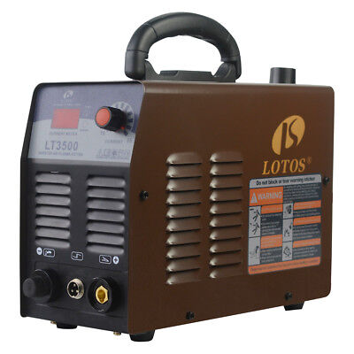 Lotos Lt3500 Fresh New 35amp Dual Voltage Portable 25 Cut Air Plasma Cutter