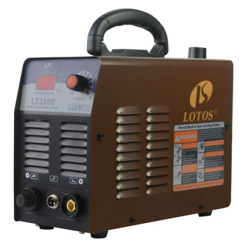 "Lotos LT3500 Fresh New 35Amp Dual Voltage Portable 2/5"" Cut Air Plasma Cutter"