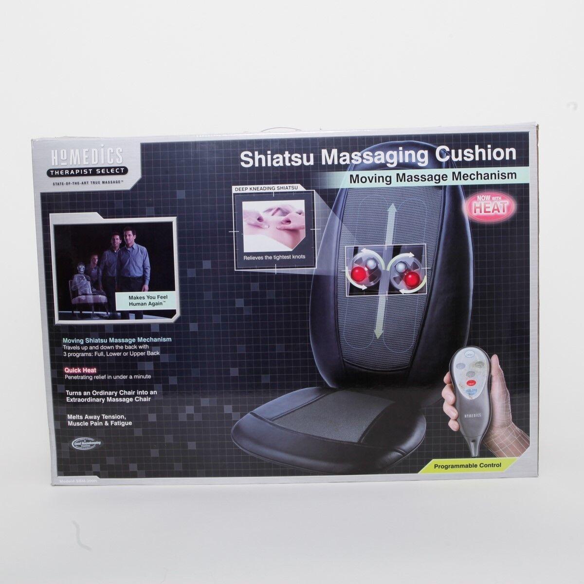 Homedics Therapist Select Shiatsu Massaging Cushion w/ Heat