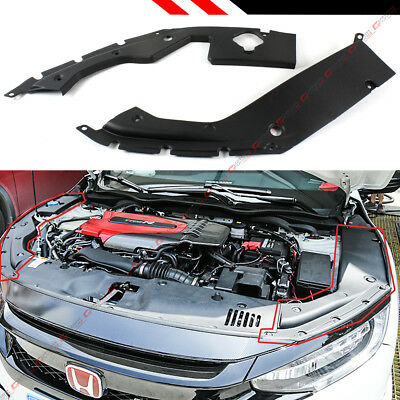 Couple Dress Up (FOR 2016-19 10TH GEN HONDA CIVIC ENGINE BAY SIDE PANEL COVERS PAIR- LONG)