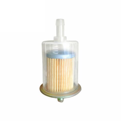 40 Micron Swirl Pump Performance Fuel Filter Inline Universal High Flow Turbo