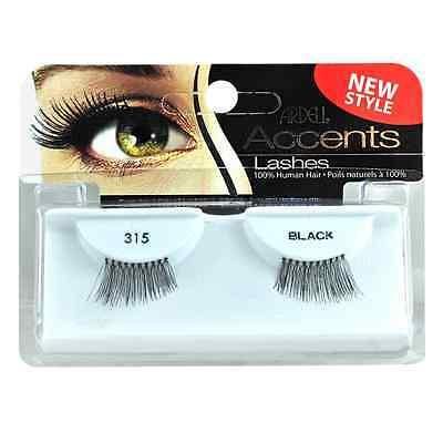 (4 Pack 315 Black Ardell Fashion Lash Accents 315 Black)