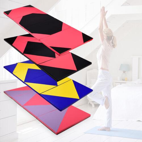 Weichbodenmatte Gymnastikmatte Turnmatte Bodenmatte Klappmatte 300x120x5cm