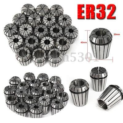 19pcs Er32 Precision Spring Collet Set For Cnc Milling Lathe Tool Workholding