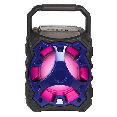 - Fully Amplified 500 Watts Bluetooth Wireless Multimedia Speaker - Blade10 Blue