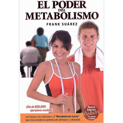 El Poder Del Metabolismo  Paperback Book