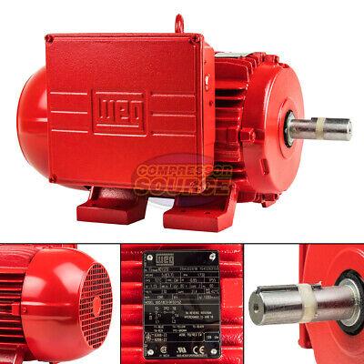 5 Hp Electric Motor W213tz W215tz 1730 Rpm Single Phase Farm Duty 1-18 Shaft