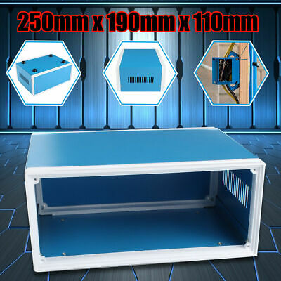 Electronic Enclosures Diy Project Box Metal Junction Case 250mm X 190mm X 110mm