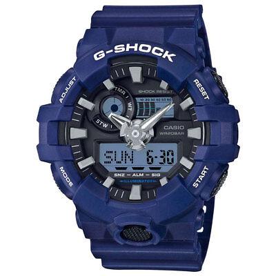 -NEW- Casio G-Shock Blue Watch GA700-2A
