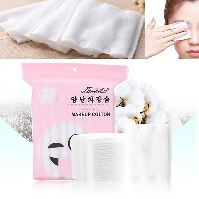 180 Pcs Cotton Puff Makeup Sponge Cleaning Pads Face Facial Cosmetic Tool New