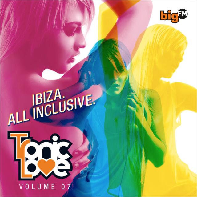 CD bigFM Tronic Love Vol.ume 7 von Various Artists 2CDs