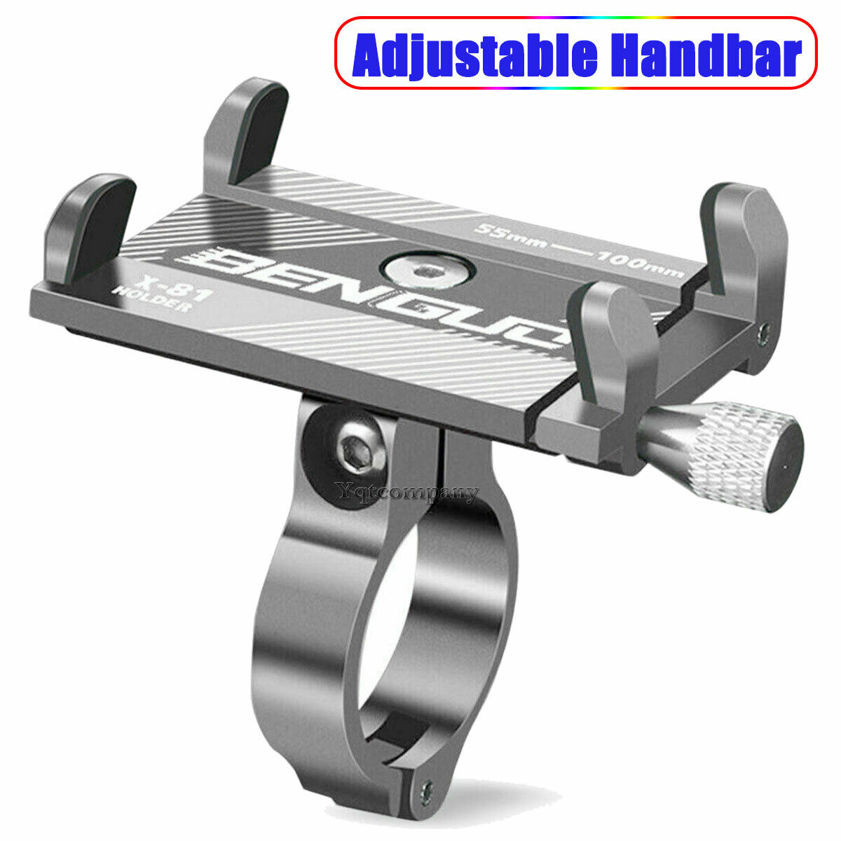 Aluminum Motorcycle Bike Bicycle Holder Mount Handlebar For Cell Phone GPS USA