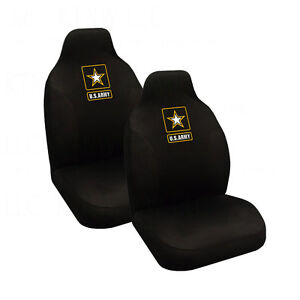 Brand New Military US Army Star Car Truck 2 Front High Back Bucket Seat Covers