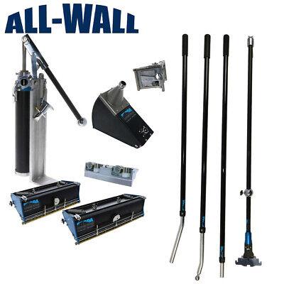 Sierra Rugged Tools Drywall Finishing Set W Flat Boxes Corner Tools Handles