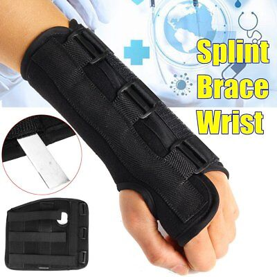 Aluminum Wrist Brace Support Splint Sprain Carpal Tunnel Syndrome Hand Injuries Carpal Tunnel Syndrome Wrist Support