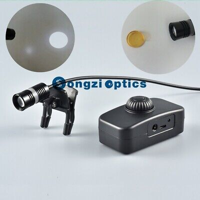 3w High Brightness Dental Surgical Headlight Circular Light Spot Orange Filter