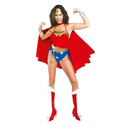 Classic Wonder Woman Costume ( Wonder Woman Deluxe Classic Adult)