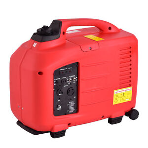 Portable 3500W Digital Inverter Generator 4 Stroke 149cc Single Cylinder Red New
