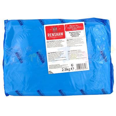 Renshaws Regalice 2.5kg Kilo Ready Roll Icing Sugarpaste Fondant - Single Pack