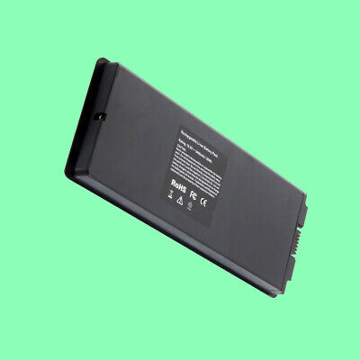 """6 Cells 59Wh Laptop Battery for Apple MacBook 13"""" A1181 A1185 MA561 MA566 Black"""