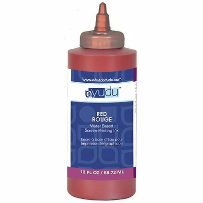 Yudu 12 Ounce Ink Red New Screen-printing