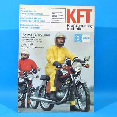 DDR KfT Kraftfahrzeugtechnik 2 1978 Simson S 50 MZ TS 150 Tomos 175 Sport 19