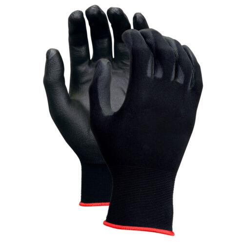 Work Safety Polyurethane Coated Nylon Work Gloves 380-5