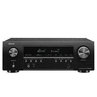 Denon AVR-S540BT Receiver, 5.2 channel, 4K Ultra HD Audio an