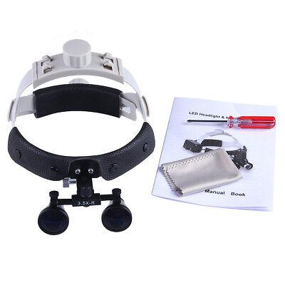 Dental Headband Surgical Medical Binocular Loupes Magnifier Lens Cover Black Hot