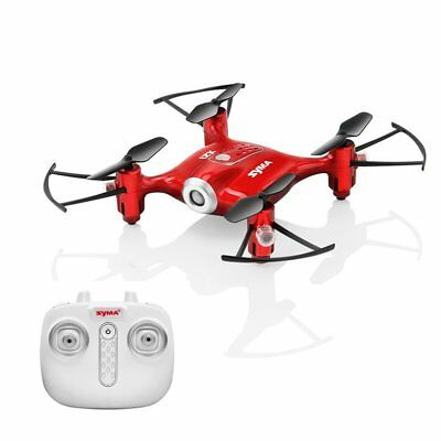 Mini Quadcopter Withdrawn Controlled Drone Helicopter RC Toy Beginner Hover RED