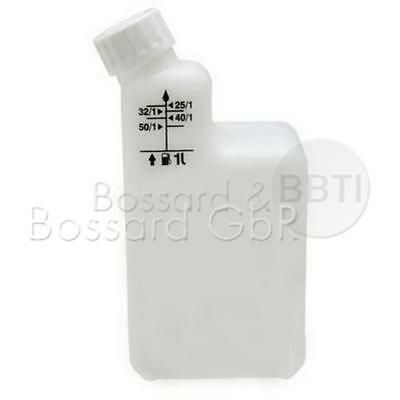 Kanister Einheit (Mischflasche 2 Takt Gemisch Kettensäge Motorsense 2T Mischung Kanister zwei Mix)