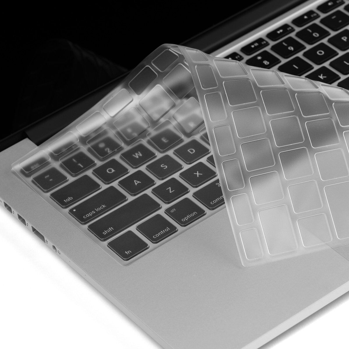 clear thin tpu keyboard protector cover skin for apple macbook pro retina 13 15 ebay. Black Bedroom Furniture Sets. Home Design Ideas