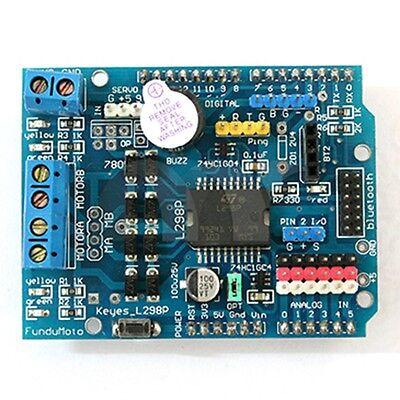 L298p Motor Drive Shield Expansion Board For Arduino Uno R3