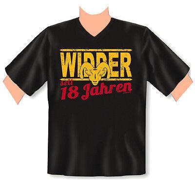 v - neck t-shirt zum 18.geburtstag - 18 jahre - coole sprüche 18