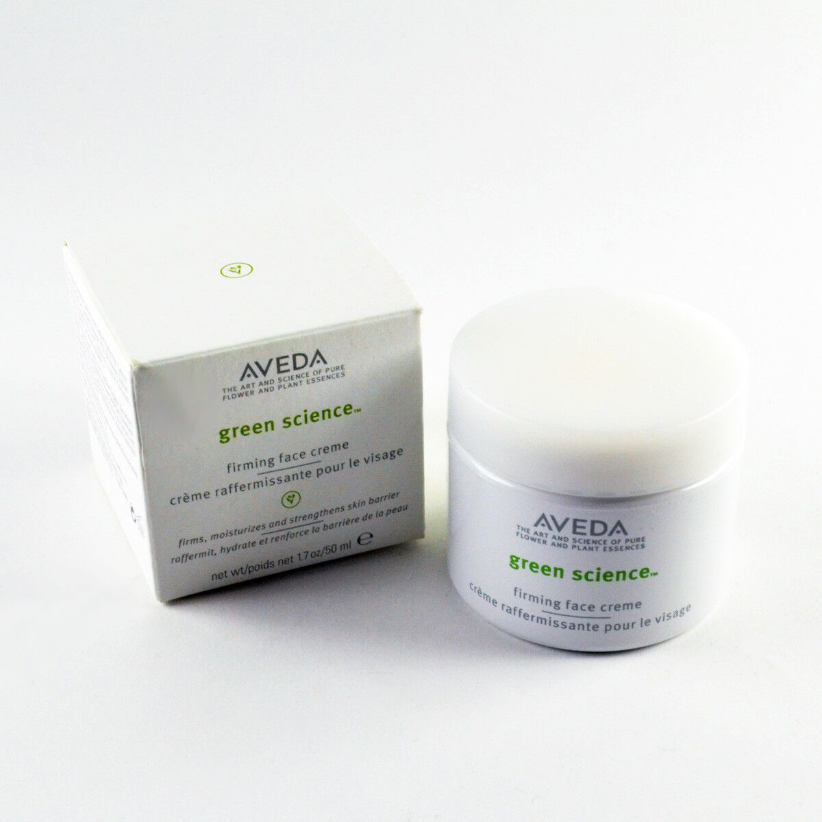 Aveda Green Science Firming Face Cream - Size 1.7 Oz. / 50mL