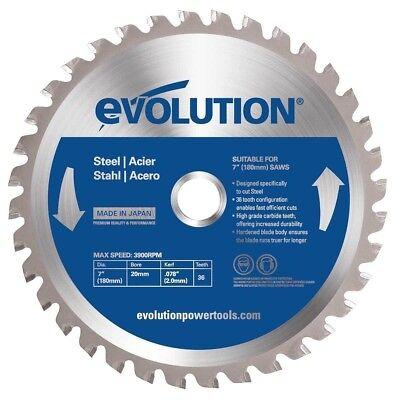 Evolution Tct 7 Steel-cutting Saw Blade 180bladest