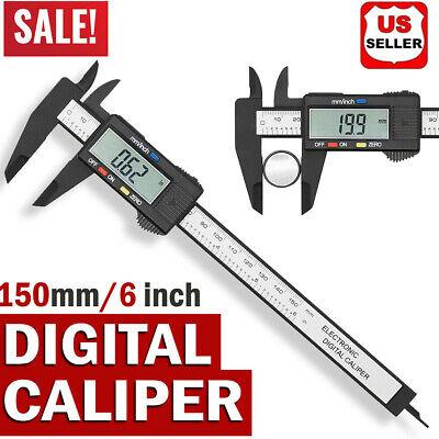 150mm 6inch Stainless Steel Digital Electronic Gauge Vernier Caliper Micrometer
