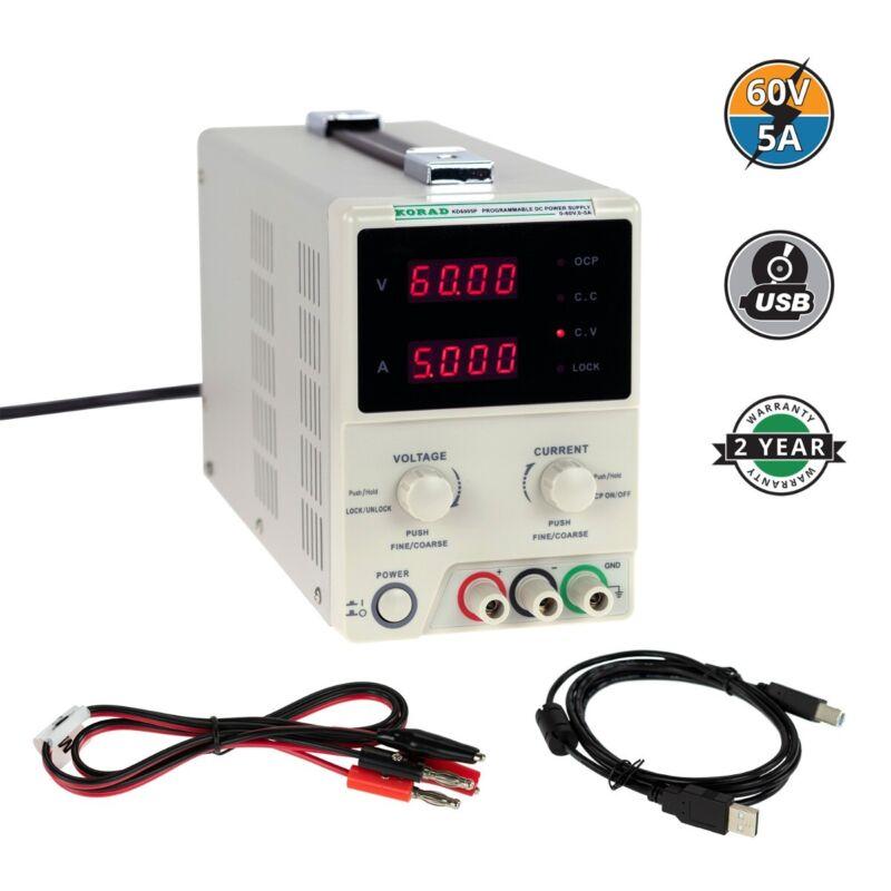 KORAD KD6005P - Programmable Precision Variable Adjustable 60V, 5A  DC Linear...