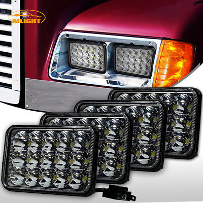 2 Pairs of LED Headlights Sealed Beam Headlamps For FREIGHTLINER FLD120 112 FLD for sale  USA