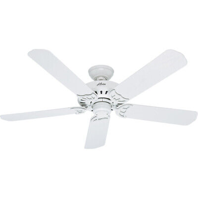 Hunter Fan Company 53125 Bridgeport 52 inch White Outdoor