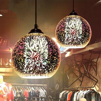 3D Art Modern Glass Ceiling Light chandelier Pendant Dining Lamp Home Bar  US Glass Bar 3 Light Pendant
