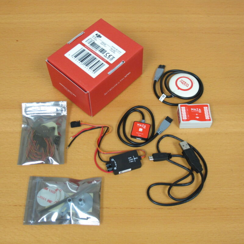 DJI NAZA-M Lite, GPS, LED Combo - Mulitcopter Flight Controller System -OPEN BOX