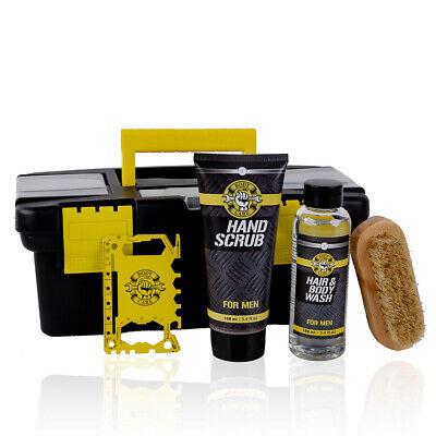 Geschenkset für Männer, Werkzeugkoffer mit Multi-Tool, Körperpflege-set for Men