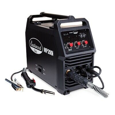 Eastwood Elite Mp200i Multi Process Welder Mig Tig Stick Timer Igbt Technology