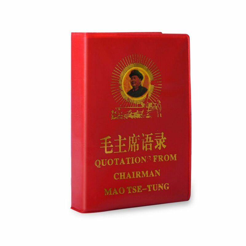 Little Red Book Chairman Mao Chinese-English