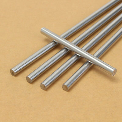 681012mm 3d Printer Cnc Chromed Smooth Rod Steel Linear Rail Shaft 100550mm