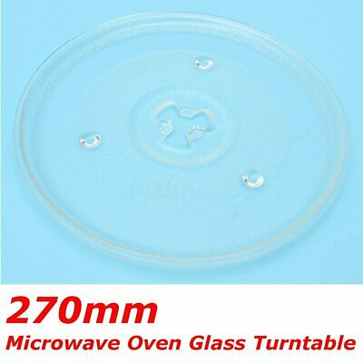 270mm Clear Microwave Oven Cooking Glass Turntable Plate Y T